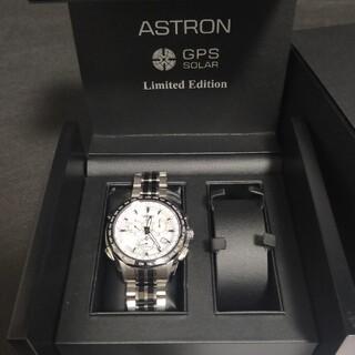 セイコー(SEIKO)の最終値下げ❗❗★美品★セイコー 限定アストロンSBXB001 ホワイト文字盤(腕時計(アナログ))
