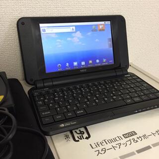 エヌイーシー(NEC)のNEC Life touch note ミニノートパソコン(ノートPC)