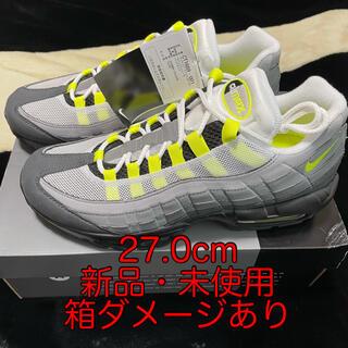 ナイキ(NIKE)のair max 95 neon yellow 27.0cm イエローグラデ(スニーカー)