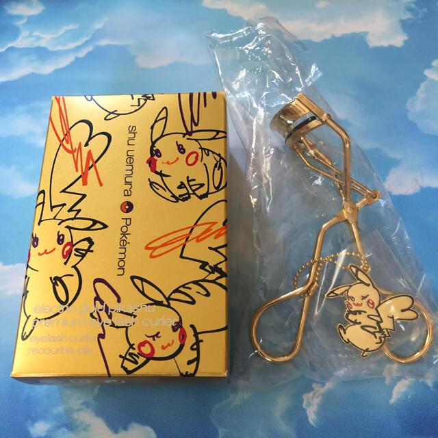 shu uemura(シュウウエムラ)のピカシュウ ビューラー コスメ/美容のメイク道具/ケアグッズ(ビューラー・カーラー)の商品写真