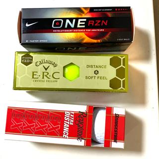 NIKE - ゴルフボール 3箱