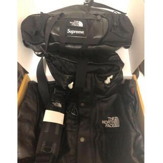 シュプリーム(Supreme)のsupreme northface leather waist bag (ウエストポーチ)