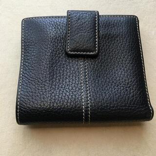 トッズ(TOD'S)のトッズ ダブルホック財布 型押しレザー(財布)