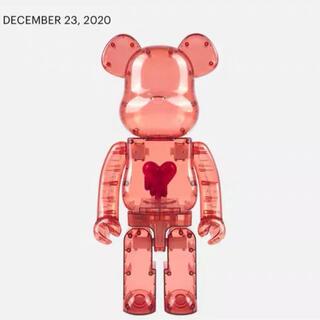 メディコムトイ(MEDICOM TOY)の【ざっく様専用】BE@RBRICK Clear Red Heart 1000%(その他)