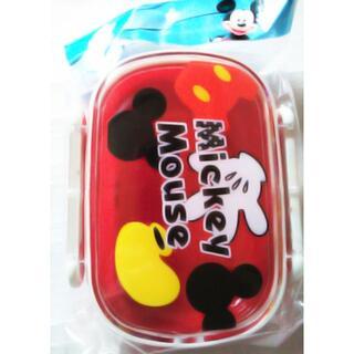 ミッキーマウス(ミッキーマウス)の新品★未使用300ml子供お弁当箱ロック式ランチボックス小さめ弁当箱 幼児(弁当用品)