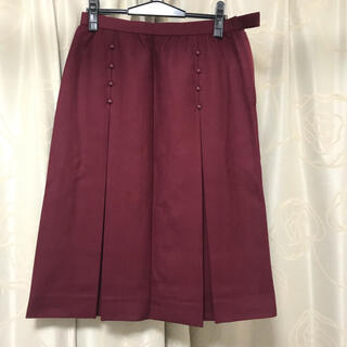 レリアン(leilian)のエルミダ ELMIDAS 大きいサイズ スカート 美品(ひざ丈スカート)
