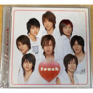 ニュース(NEWS)のNEWS touch初回盤(DVD付)(ポップス/ロック(邦楽))