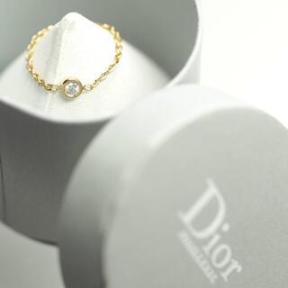 クリスチャンディオール(Christian Dior)のvv Dior クリスチャン・ディオールミミウィK18YGリング 5号 箱有(リング(指輪))