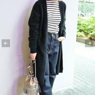 イエナ(IENA)の☆(//∇//)キラ様専用☆イエナ IENA  ラクーンルーズカーディガン(ニット/セーター)