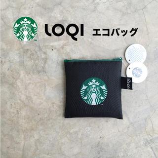 スターバックスコーヒー(Starbucks Coffee)のスタバ LOQI コラボ エコバッグ トートバッグ スターバックス(エコバッグ)