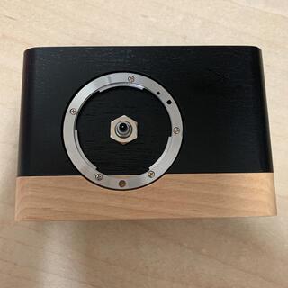 カメラ時計 KSW-CPC-01 カメラのキタムラ(置時計)