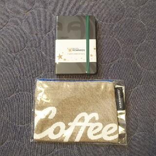 スターバックスコーヒー(Starbucks Coffee)のスターバックス モレスキン & ポーチ セット(手帳)