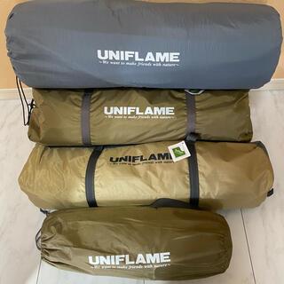 ユニフレーム(UNIFLAME)のユニフレームRevo タープ、ルーム4 プラス、スクリーン(テント/タープ)