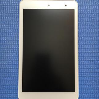 京セラ - Qua Tab 01 ホワイト SIMフリー(箱、取説付き)