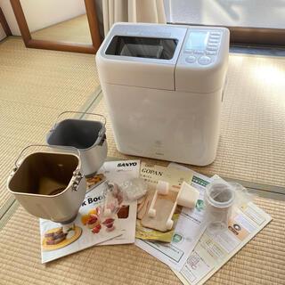 サンヨー(SANYO)のGOPAN ゴパン 2011年製 箱 説明書 付属品あり(ホームベーカリー)