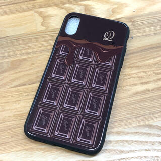 キューポット(Q-pot.)のQ-pot. チョコレート X/Xs iPhoneケース(iPhoneケース)