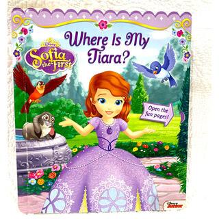 ディズニー(Disney)の【お手頃】ディズニー ソフィア 絵本 英語 Where Is My Tiara?(洋書)
