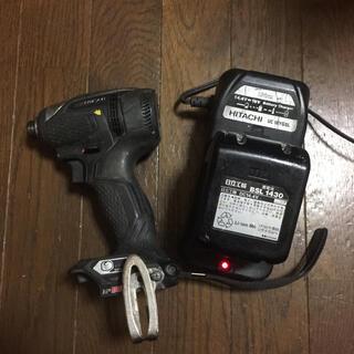 ヒタチ(日立)のりかさん専用 日立 インパクトドライバー WH 14DDL(その他)