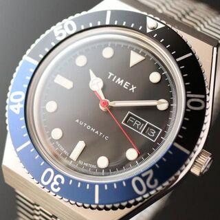 タイメックス(TIMEX)の【新品即納】タイメックス TIMEX M79 自動巻き メンズ腕時計 バットマン(腕時計(アナログ))