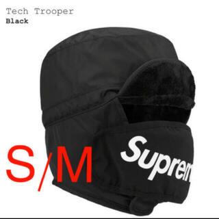 シュプリーム(Supreme)の黒 S/M supreme tech trooper  シュプリーム(その他)