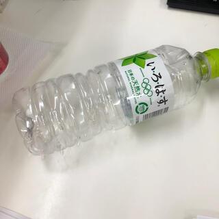 いろはすのペットボトル(ゴミ(ミネラルウォーター)