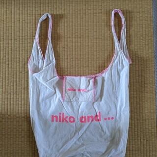 ニコアンド(niko and...)のニコアンド エコバッグ トートバッグ メンズ ユニクロ GU(エコバッグ)