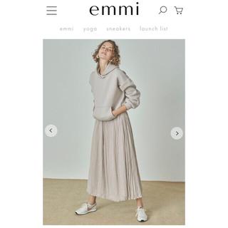 emmi atelier - 【emmi atelier】ドッキングフーディワンピース