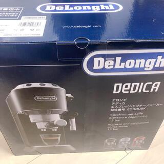 デロンギ(DeLonghi)のDeLonghi エスプレッソ・カプチーノメーカー  デディカ EC680BK(エスプレッソマシン)
