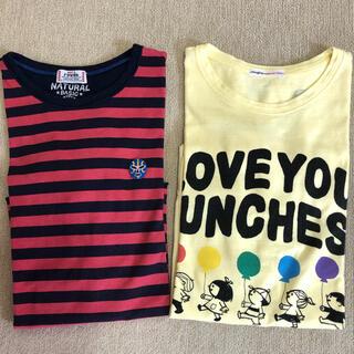 ラフ(rough)のrough ロンT 2枚セット(Tシャツ(長袖/七分))