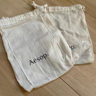 イソップ(Aesop)の【新品】Aesop巾着(ポーチ)