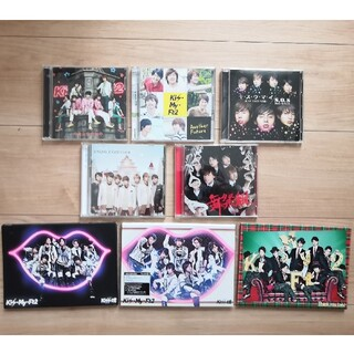 キスマイフットツー(Kis-My-Ft2)のKis-My-Ft2 初回限定盤(CD,DVD)とコンサートDVD(ポップス/ロック(邦楽))