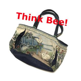 トーガ(TOGA)のTHINK BEE! Rabbits Landscape Bag(トートバッグ)
