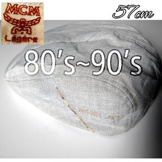 エムシーエム(MCM)の80's90's MCM Legere ビンテージ ハンチング レア レトロ (ハンチング/ベレー帽)