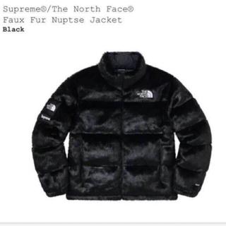 シュプリーム(Supreme)の20aw supreme north face faux fur nuptse(ダウンジャケット)