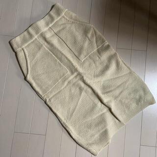 ロデオクラウンズ(RODEO CROWNS)の☆RODEOCROWNSニットスカート☆(ひざ丈スカート)