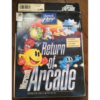 マイクロソフト(Microsoft)のマイクロソフト Microsoft Return of Arcade(PCゲームソフト)