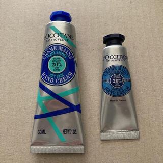 ロクシタン(L'OCCITANE)のロクシタン クラシックシア ハンドクリーム 30mLと10mL ほぼ新品(ハンドクリーム)