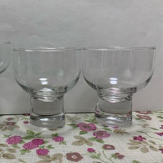 トウヨウササキガラス(東洋佐々木ガラス)の冷酒 昭和レトログラス 3個 セット(グラス/カップ)