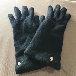 ケイトスペードニューヨーク(kate spade new york)のケイトスペード 手袋 ブラック 黒(手袋)