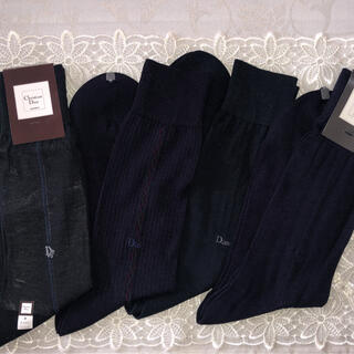 Christian Dior - 【新品未使用】クリスチャンディオール紳士用靴下 25cm 4足セット