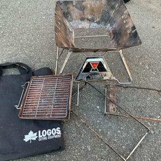 ロゴス(LOGOS)のロゴス 焚き火台M(ストーブ/コンロ)