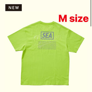 シー(SEA)のWINDANDSEAxDANNER Heavy oz S/S TEE 黄色(Tシャツ/カットソー(半袖/袖なし))