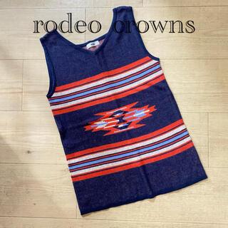 ロデオクラウンズ(RODEO CROWNS)のrodeocrownsオルテガ風ベスト✳︎(ベスト/ジレ)