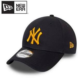 ニューエラー(NEW ERA)のニューエラ キャップ NY ヤンキース ネイビー ロゴ  イエロー 黄色(キャップ)