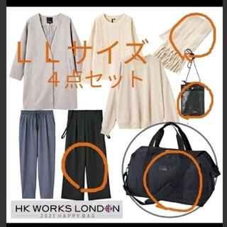 シマムラ(しまむら)のしまむら福袋 2021 HAPPY BAG HK WORKS LONDON 4点(サロペット/オーバーオール)