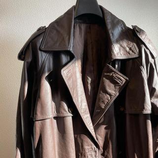 ジョンローレンスサリバン(JOHN LAWRENCE SULLIVAN)のlong leathercoat(レザージャケット)