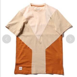 ロンハーマン(Ron Herman)のNATIVE YOUTH  パネル切替えTシャツM(Tシャツ/カットソー(半袖/袖なし))