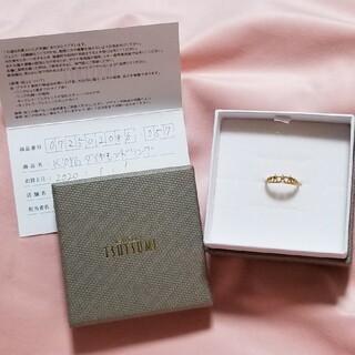 ジュエリーツツミ(JEWELRY TSUTSUMI)のK10YGダイヤモンドリング(リング(指輪))