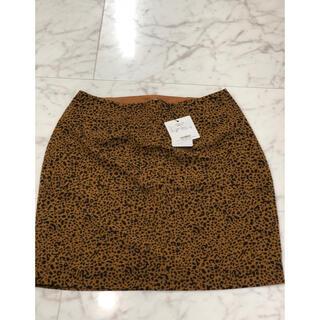 スライ(SLY)のSLY レオパード柄 スカート(ひざ丈スカート)