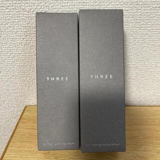 スリー(THREE)の【新品】THREE フォーメン ジェントリング 化粧水 洗顔料(化粧水/ローション)